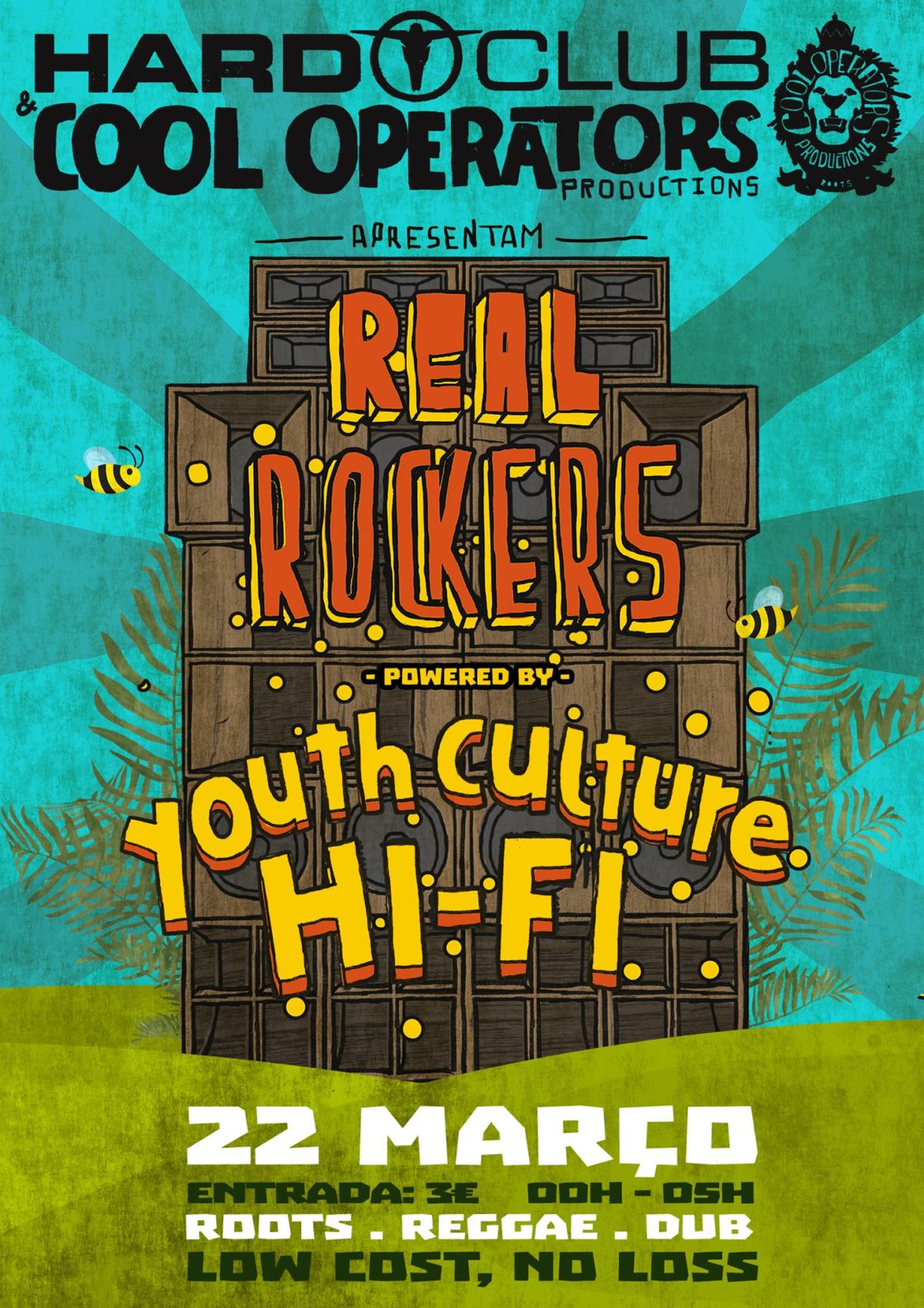 Porta Hi Fi Design.Real Rockers Powered By Youth Culture Hi Fi Hard Club