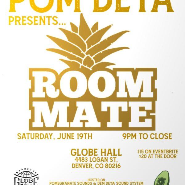 PomDeya presents Roommate [Avocaudio/King Dubbist]